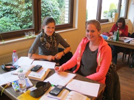 Evelin Dieckmann und Valerie Heitkamp