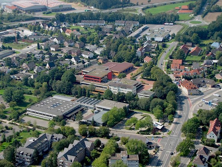 Luftaufnahme BBS Melle