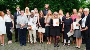 Die Absolventen Sozialassistenz (SAS 2c). (c) Foto: Diana Duck