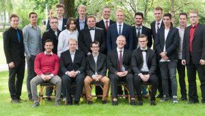 Die Absolventen der Fachoberschule Technik. Foto: PicPenSAG BBS Melle