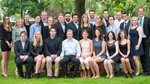 Die Absolventen der WIK 3. (c) Foto: Pic Pen S-AG