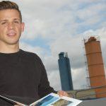 Auslandserfahrungen: Ruben Herz, Auszubildender bei Firma Melos und an den BBS Melle, arbeitete in Perpignan/Südfrankreich.