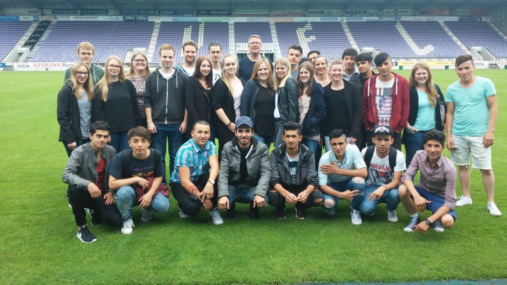 Sprint-Schüler und angehende Bürokaufleute beim VfL Osnabrück